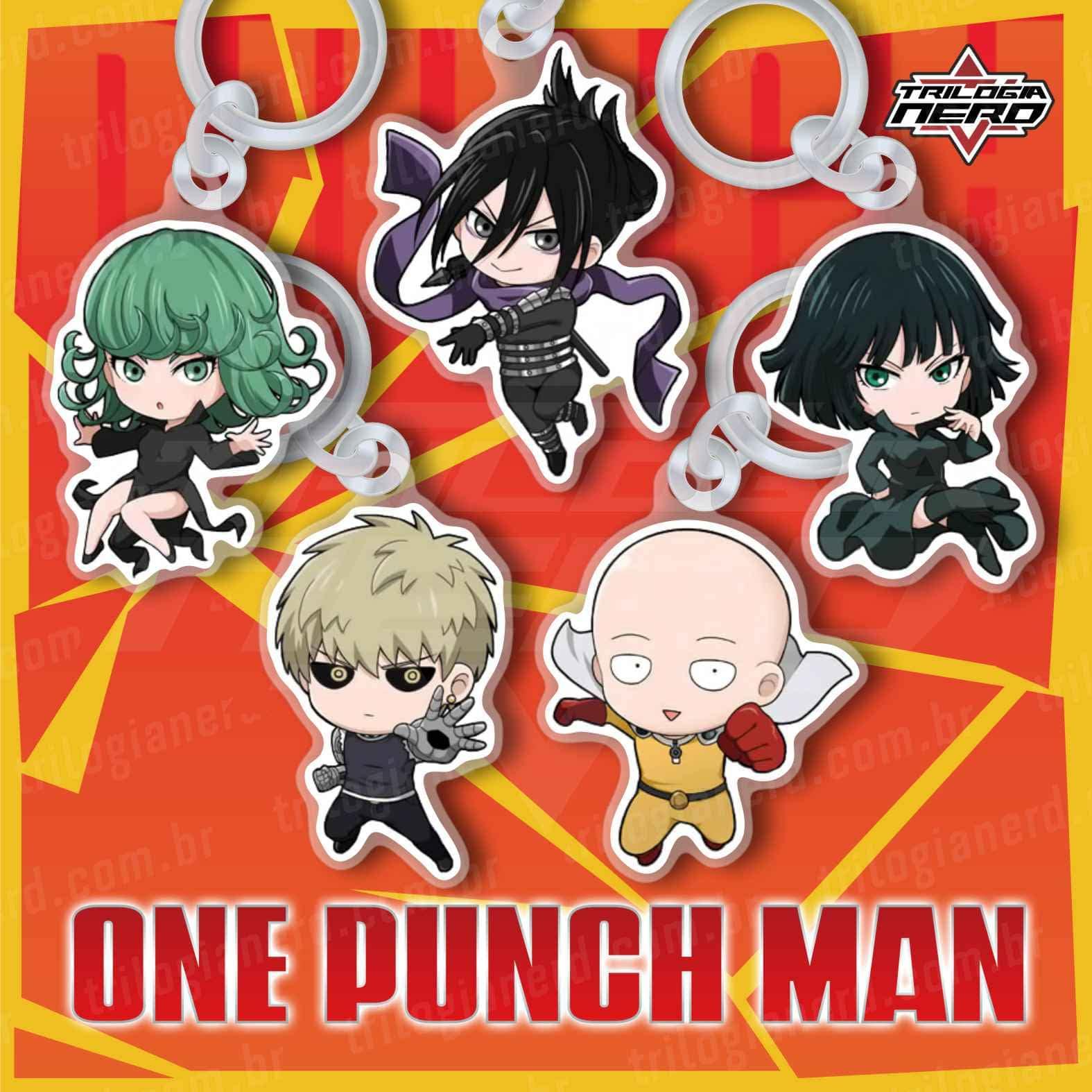 Kit de Chaveiros One Punch Man